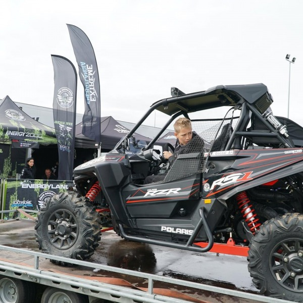 Namiot reklamowy VITABRI - Energylandia Rally Team Rajd Baja Szczecinek