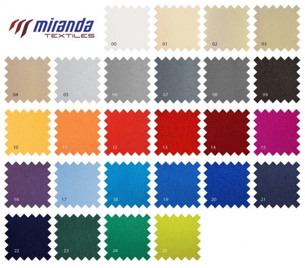 kolorystyka materiałów Miranda