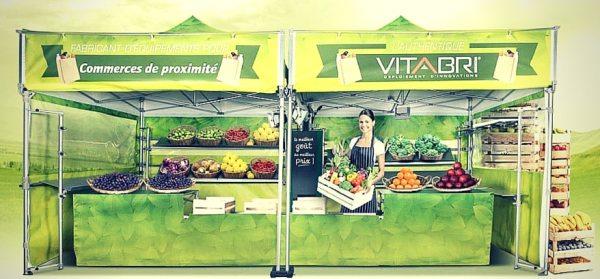 Namiot reklamowy Vitabri