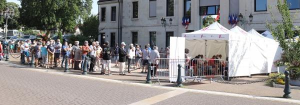 namiot poczekalnia przed szpital vitabri v3 3x3m