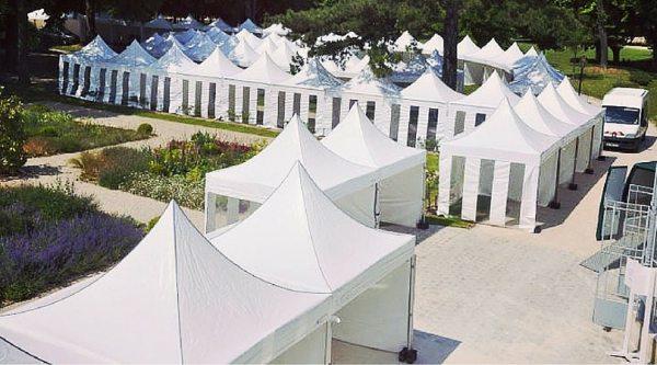 Wynajem namiotów na eventy