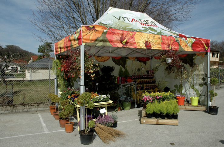namiot handlowy vitabri v2 3x45m namiot ekspresowy