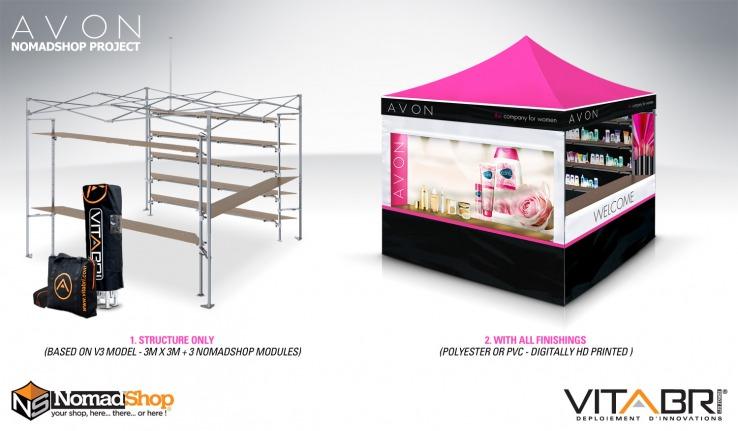 namiot handlowy vitabri v3 pro