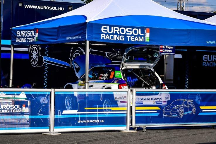 namiot reklamowy vitabri z nadrukeim eurosol