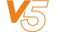 v5 logo