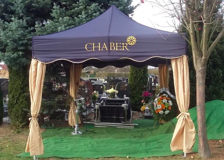namiot pogrzebowy VITABRI V3 3x3m Chaber
