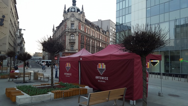 namiot dla urzędu miasta katowice vitabri
