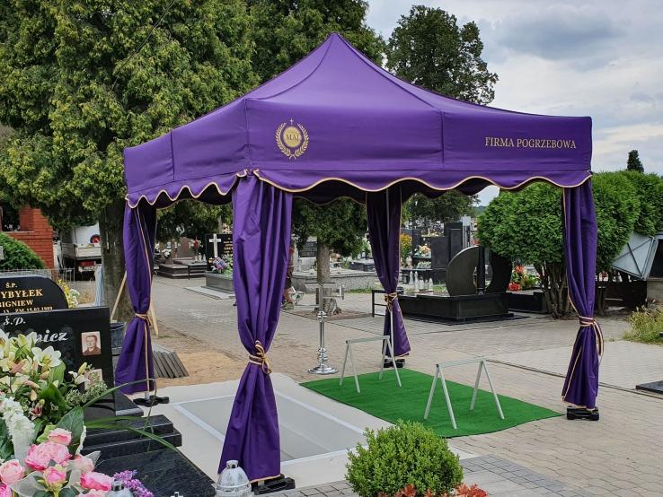 namiot pogrzebowy VIATBRI V3 3x3m Maj