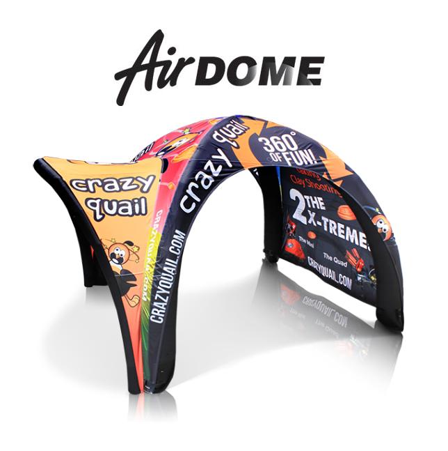 AirDome namioty ekspresowe dmuchane